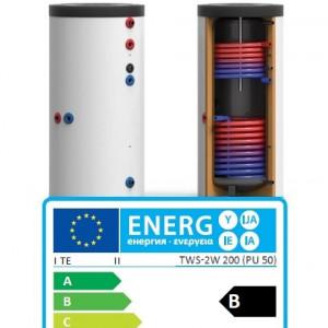 Boiler TWS-2W bivalent 300 L - TWS-2W 300 Germania