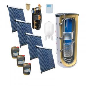 Pachet solar ACM si aport la incalzire 200 mp PANOSOL