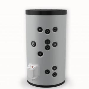 Boiler solar cu 2 serpentine si rezistenta electrica ELDOM 500 litri 3 kW (FV50080S2)