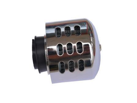 Filtru aer sport Ø28/35mm cu protectie metalica