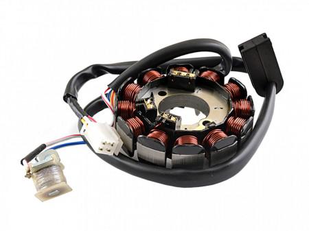 Stator Minarelli AM6 2007/Aprilia MX 50/Beta RR/MBK X/Peugeot XPS/Yamaha DTR-DTX-TZR 50 (12 bobine+senzor de scanteie)