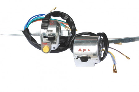 Set comutatoare moped (dreapta=fara buton pornire)