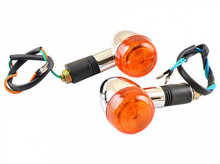 Set lampi semnalizare-crom