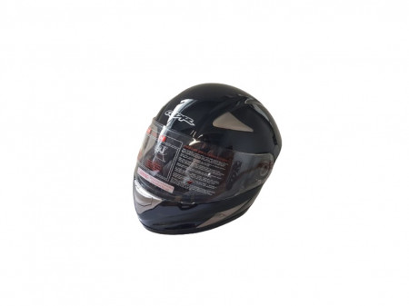 Casca moto policarbonat, unisex, negru