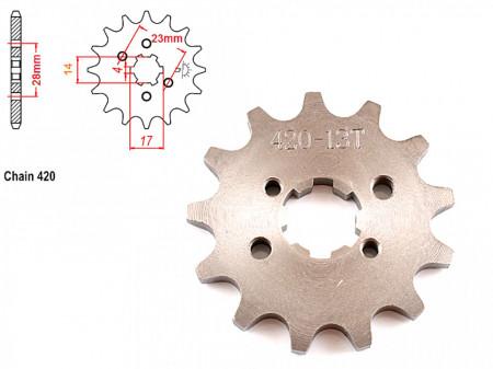 Pinion transmisie fata 420/13T