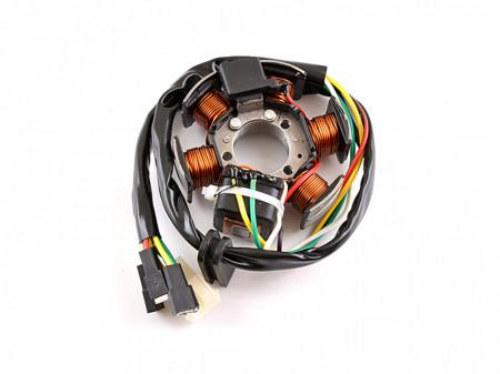 Stator Minarelli AM3-4-5-6 (6 bobine+senzor scanteie)