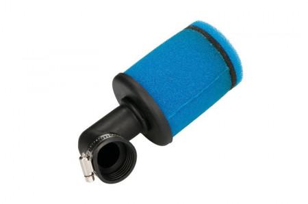 Filtru aer albastru 25-35mm, 90grade
