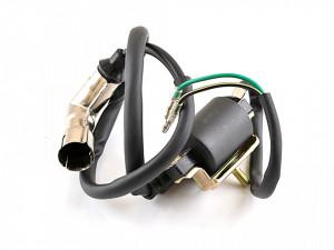 Bobina inductie moped 4T (pipa bujie cu protectie metalica)