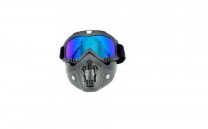 Ochelari moto cu masca