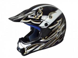 Casca moto enduro negru-gri Awina TN8686-31 marimea L