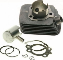 Set motor Piaggio/Ciao/Bravo/Si bolt 10mm, AC-2T, 50cc, 38.2mm