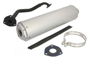 Esapament GY6 125cc aluminiu