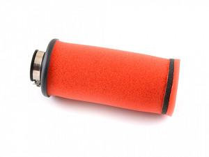 Filtru aer sport Ø35mm, rosu-cilindric