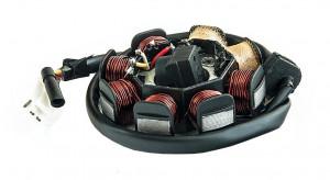 Stator GY6 50-80cc 4T (8 bobine+senzor scanteie)