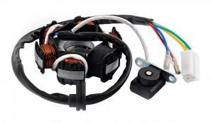 Stator GY6 50cc 4T (6 bobine+senzor scanteie)
