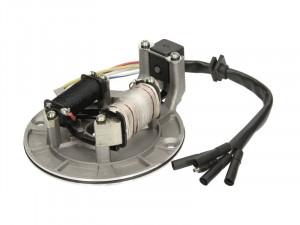Stator 110-125cc (5 fire, 2 bobine, cu platou si senzor scanteie)