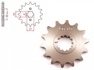 Pinion transmisie fata 420/14T
