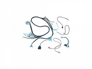 """Set cabluri instalatie electrica scuter 4T GY6 50cc, 10"""""""
