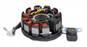 Stator GY6 125-150cc (11 bobine+senzor scanteie)