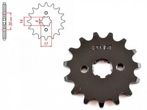 Pinion transmisie fata 420/15T