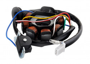 Stator Yamaha Jog 2T 50-80cc (7 bobine+senzor scanteie)