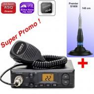 Premier CB 204 + Antena S1600