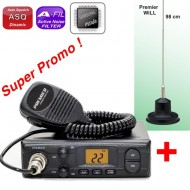 Premier CB 204 + Antena Will