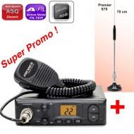 Premier CB 204 + Antena S70
