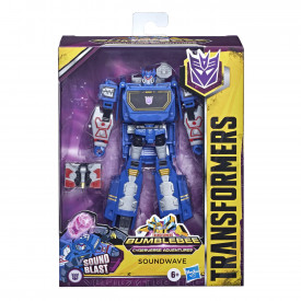 TRANSFORMERS ROBOT VEHICUL CYBERVERSE DELUXE SOUNDWAVE