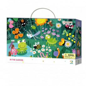 Puzzle - In gradina (80 piese)