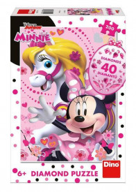 Puzzle - Minnie si calutul (200 piese)