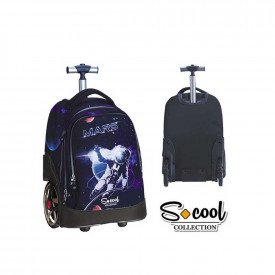 Ghiozdan trolley compartiment laptop, MARS - S-COOL