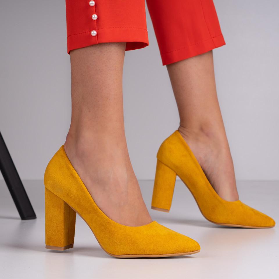 Pantofi cu toc dama SB1381B