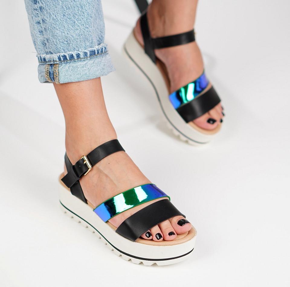 Sandale cu platforma dama SB1225B