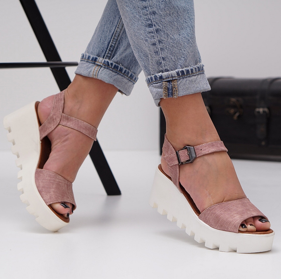 Sandale cu platforma dama SB1469B