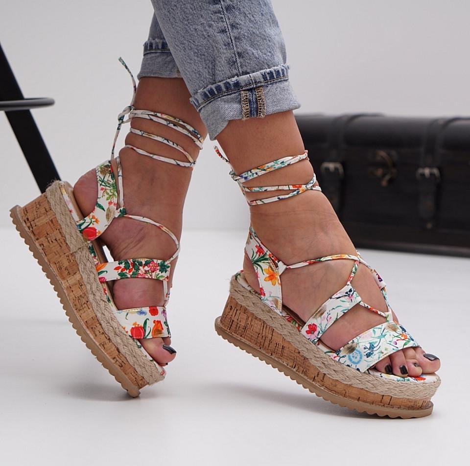 Sandale cu platforma dama SB1504B