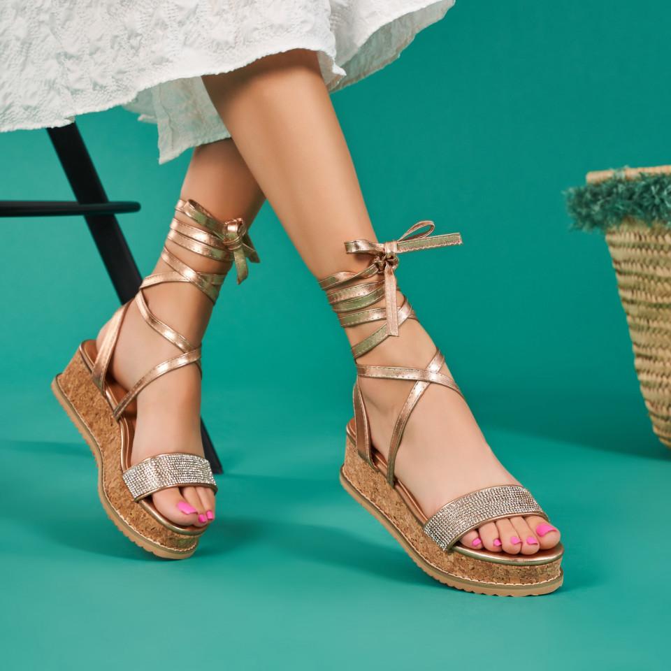 Sandale cu platforma dama SB1672B