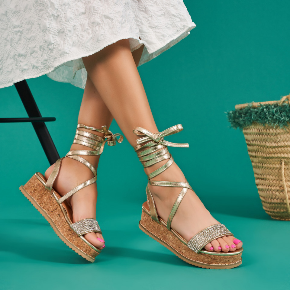 Sandale cu platforma dama SB1675B