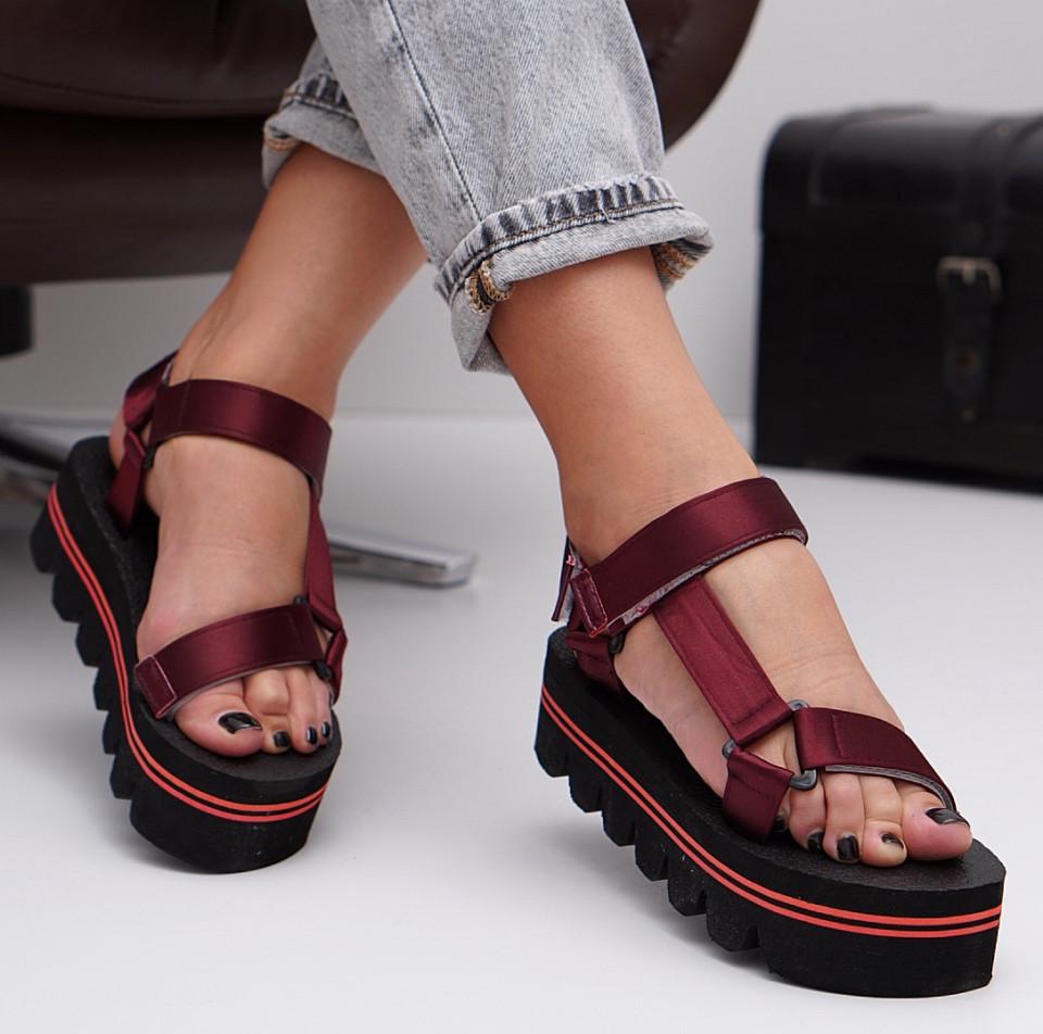Sandale cu platforma SB1530B