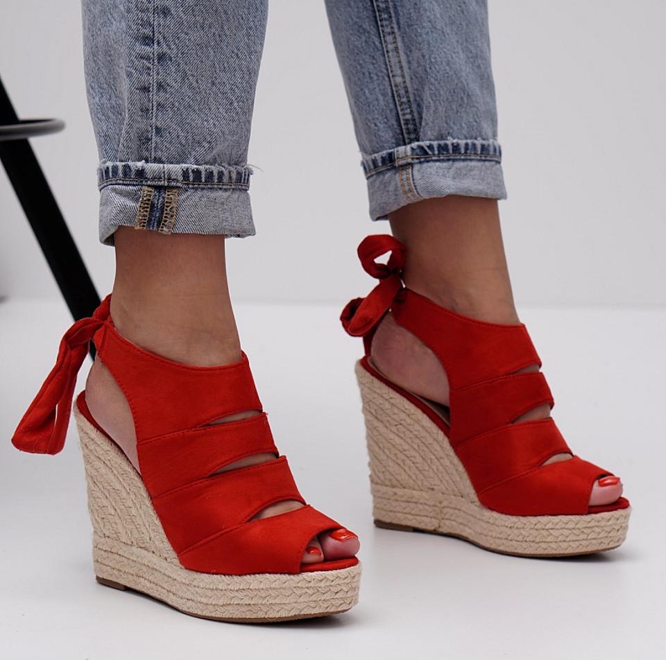 Sandale dama cu platforma SB1445B
