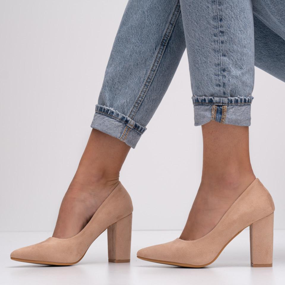 Pantofi cu toc dama SB1414B