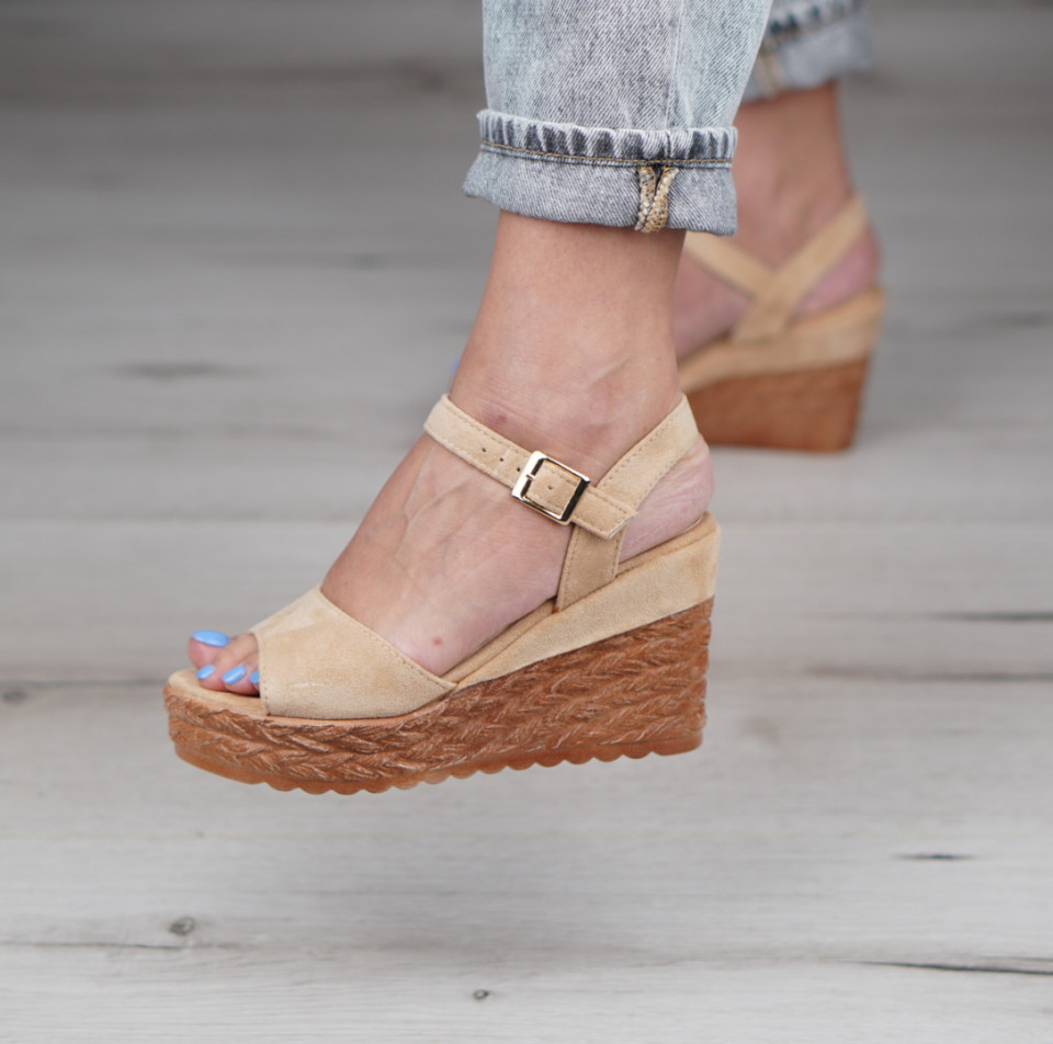 Sandale cu platforma dama SB1120B