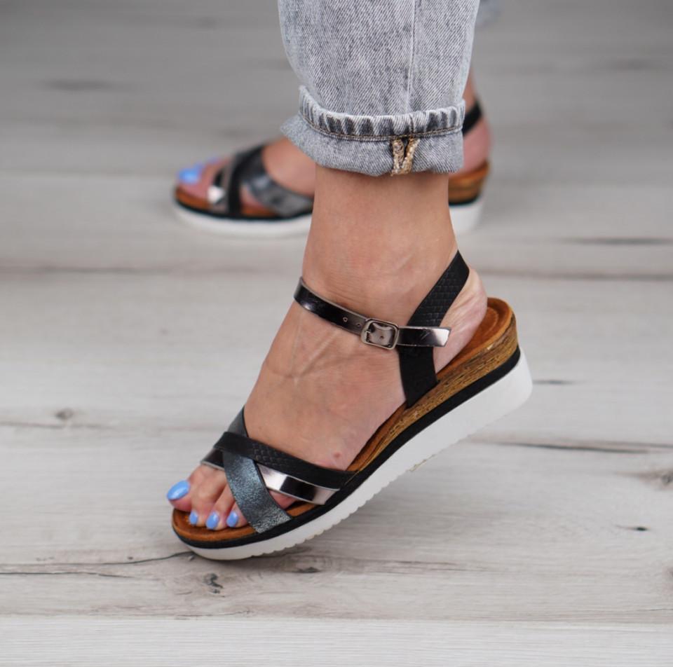 Sandale cu platforma dama SB1158B