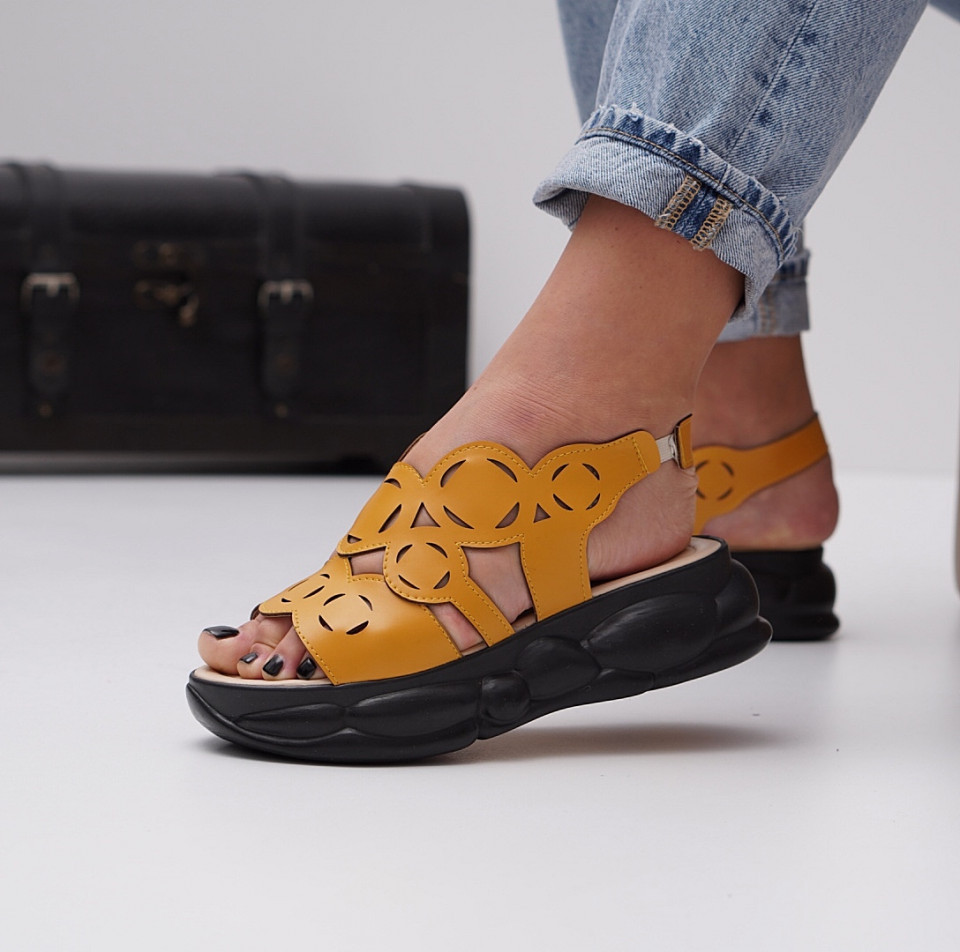 Sandale cu platforma dama SB1465B
