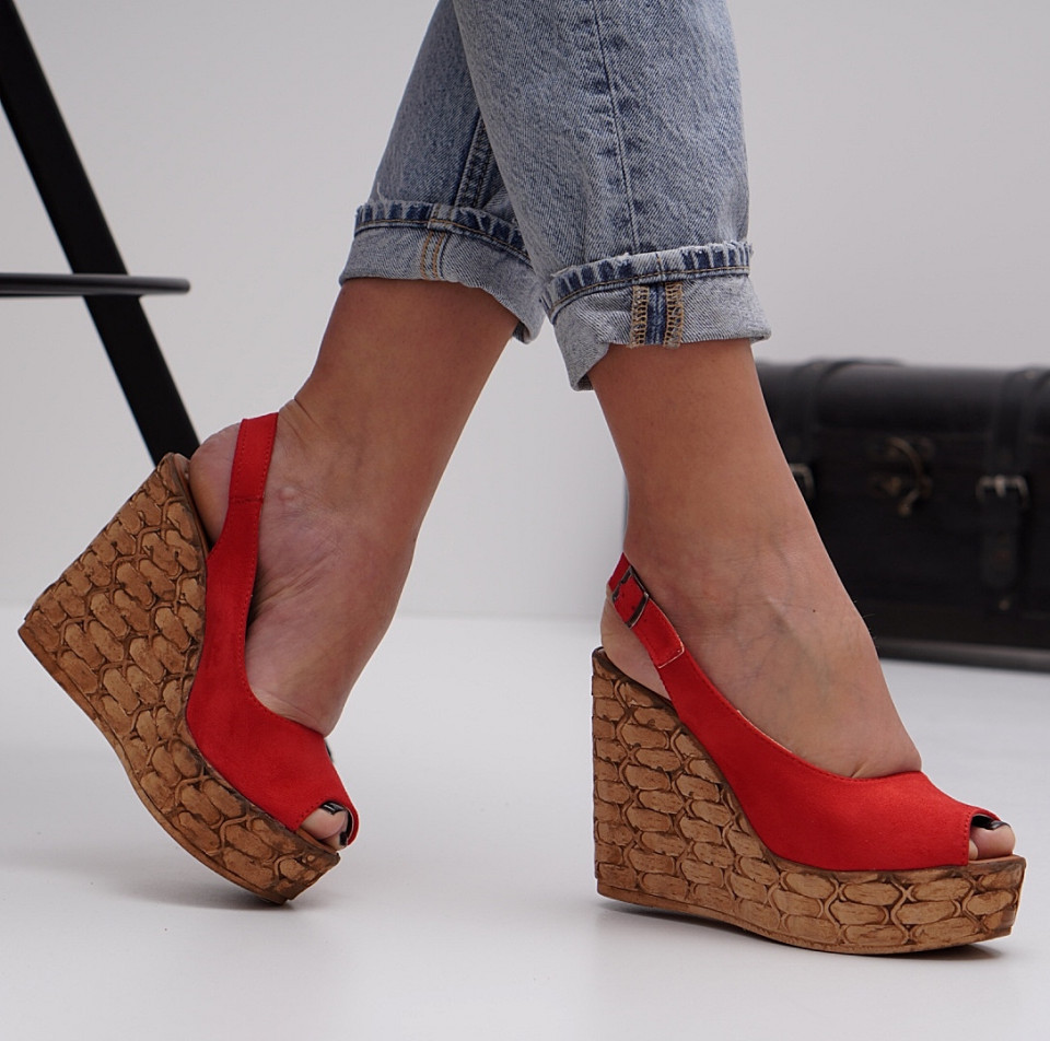 Sandale cu platforma dama SB1485B