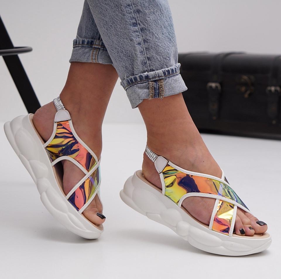 Sandale cu platforma dama SB1514B