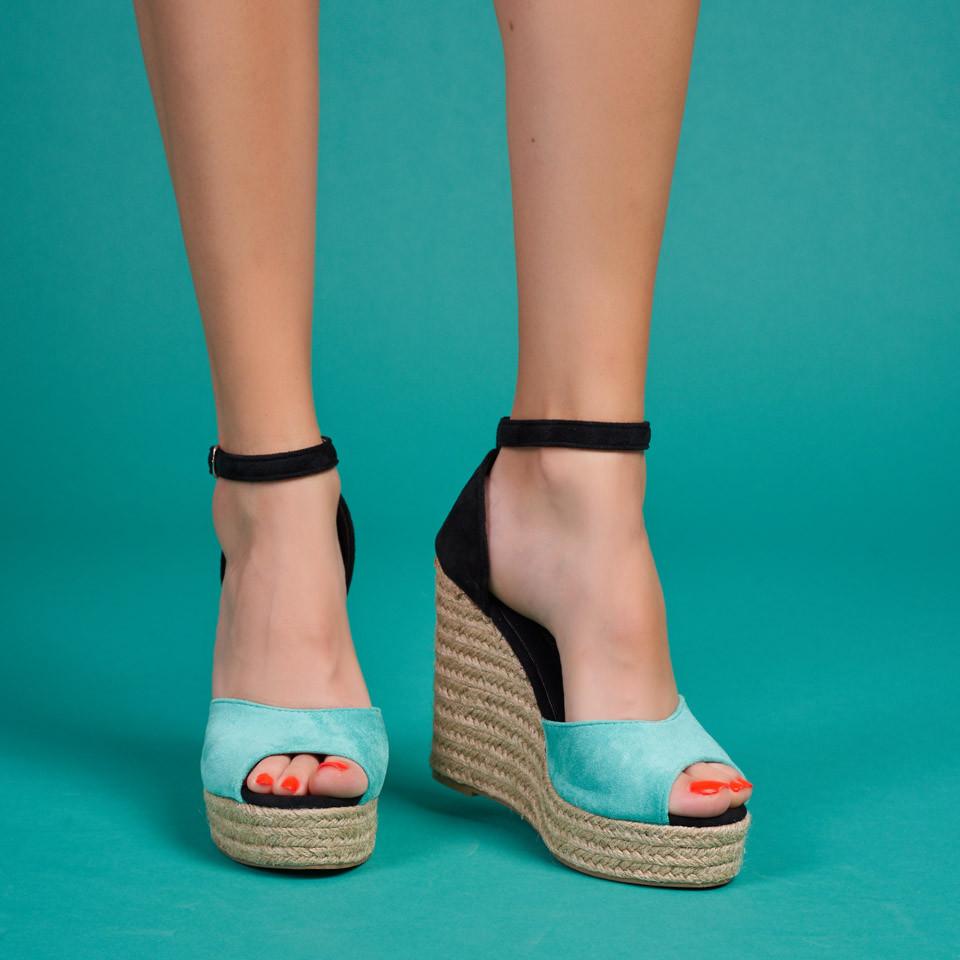 Sandale cu platforma dama SB1620B