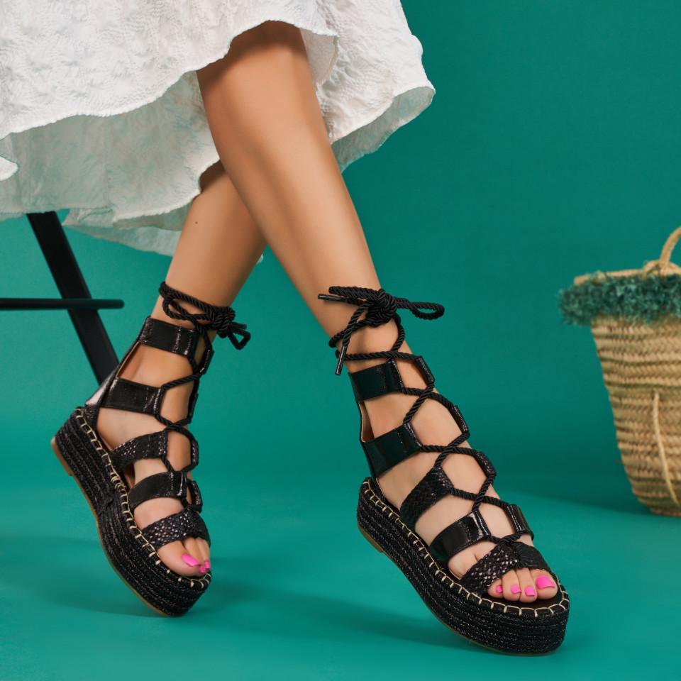 Sandale cu platforma dama SB1661B