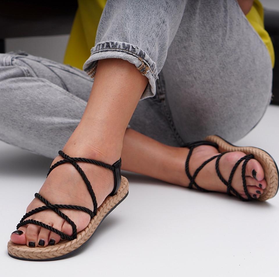 Sandale cu talpa joasa dama SB1527B