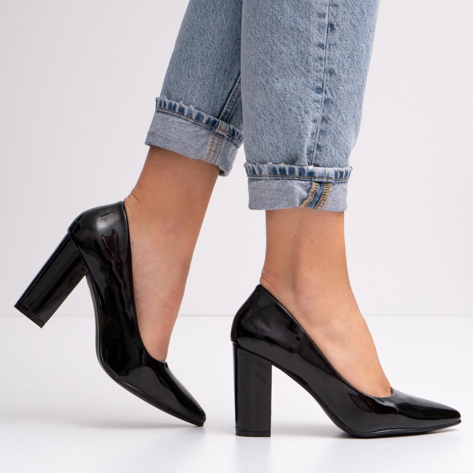 Pantofi cu toc dama SB1417B